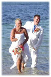 Thinking about getting married in the Sun? Call Pamela Covert-Slater to help you get organized!